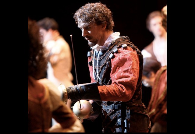 Gary Avis as Tybalt in Romeo and Juliet