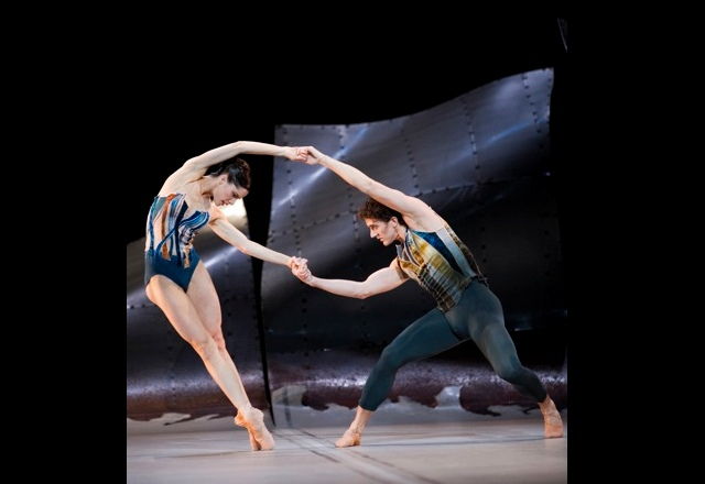 Gary Avis and Darcey Bussell in DGV