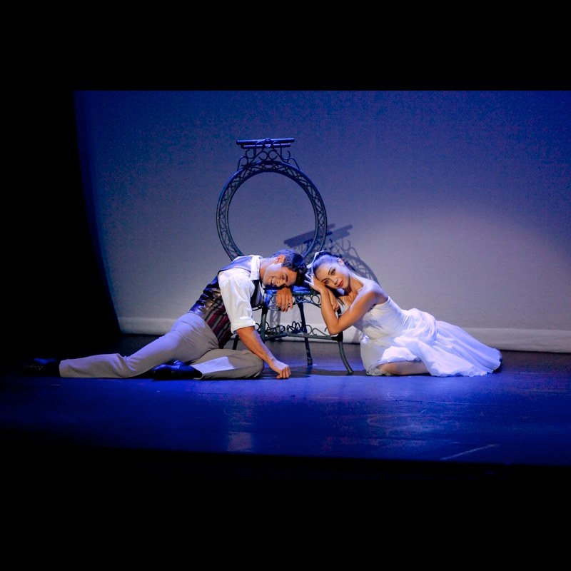 Leanne Cope and Paul Kay in The Two Pigeons Pas De Deux