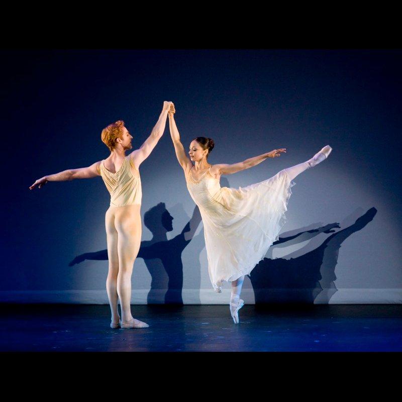 Roberta Marquez and Steven McRae in Rhapsody Pas De Deux